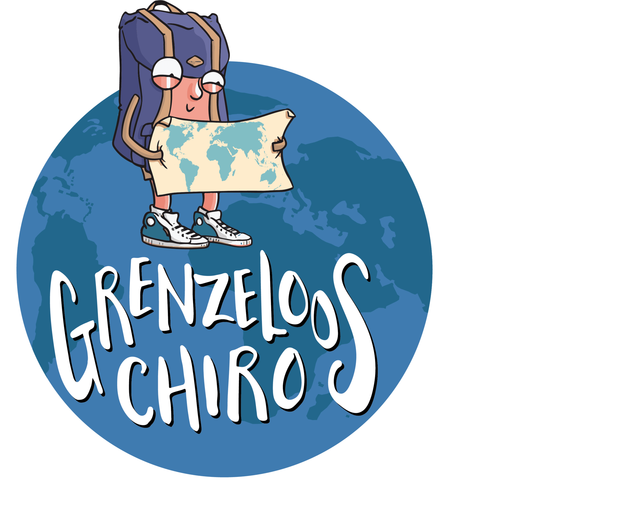 Grenzeloos Chiro - logo
